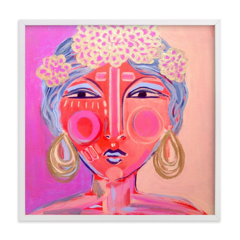 """""""Idalia"""" - Limited Edition Art Print by Juniper Briggs in beautiful frame options and a variety of sizes."""