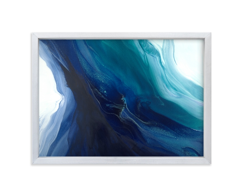 """Caribbean Silk"" - Limited Edition Art Print by Teodora Guererra in beautiful frame options and a variety of sizes."
