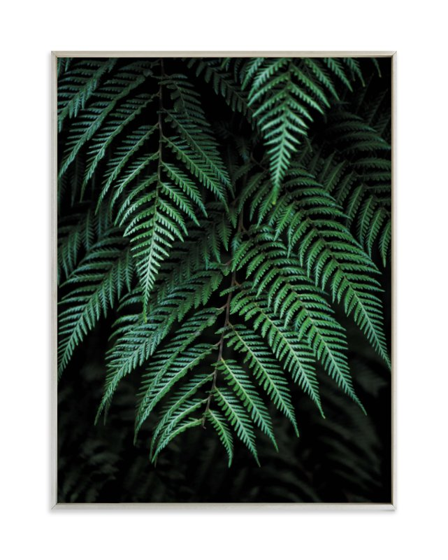 """""""Layers of green"""" - Limited Edition Art Print by Bethania Lima in beautiful frame options and a variety of sizes."""