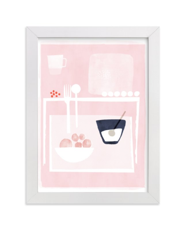 """""""And I waited there"""" - Limited Edition Art Print by Francesca Iannaccone in beautiful frame options and a variety of sizes."""