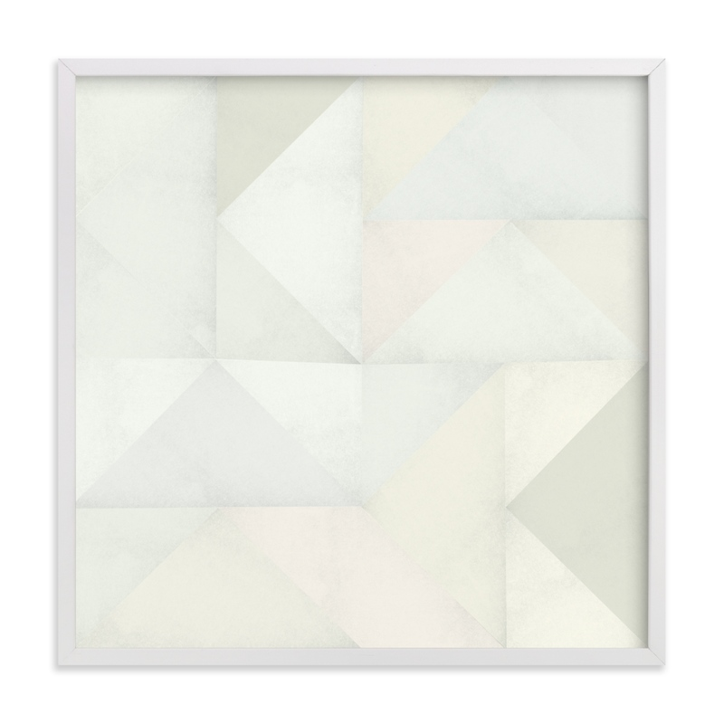 """quilt block 01"" - Limited Edition Art Print by Leanne Friedberg in beautiful frame options and a variety of sizes."