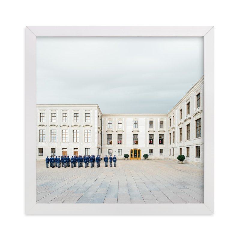 """Trumpets at Noon"" - Limited Edition Art Print by Andrew McClintock in beautiful frame options and a variety of sizes."