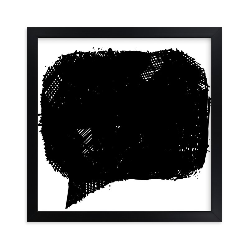 """""""This is how I feel today"""" - Limited Edition Art Print by Melissa Ponicsan in beautiful frame options and a variety of sizes."""