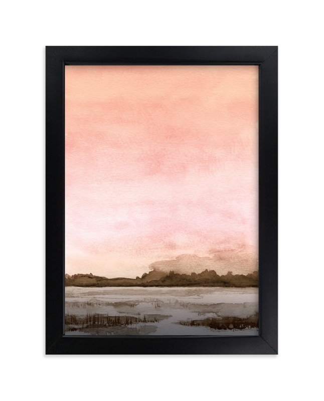 """""""Marshy Cove"""" - Limited Edition Art Print by Field and Sky in beautiful frame options and a variety of sizes."""