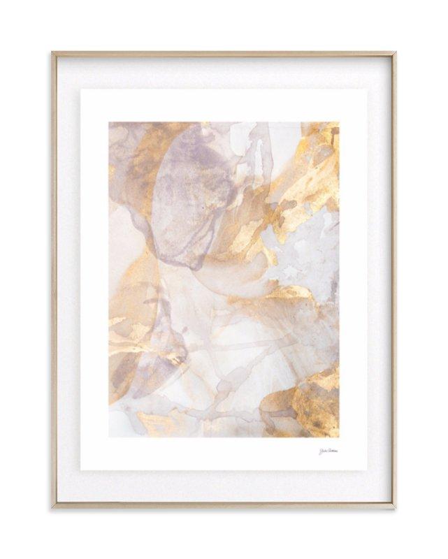 Soft Shimmer No. 2 Art Print