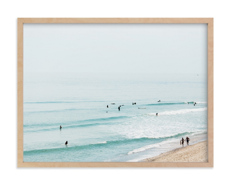 """Beach Summer Blues"" - Limited Edition Art Print by Helen Makadia Photography in beautiful frame options and a variety of sizes."