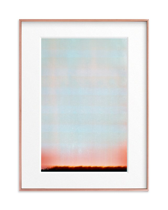 photo abstract Art Print