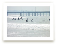 Waiting, Venice Pier by Annie Seaton