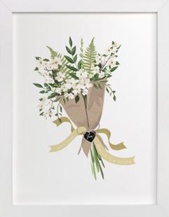 North Carolina Dogwood Bouquet Art Print