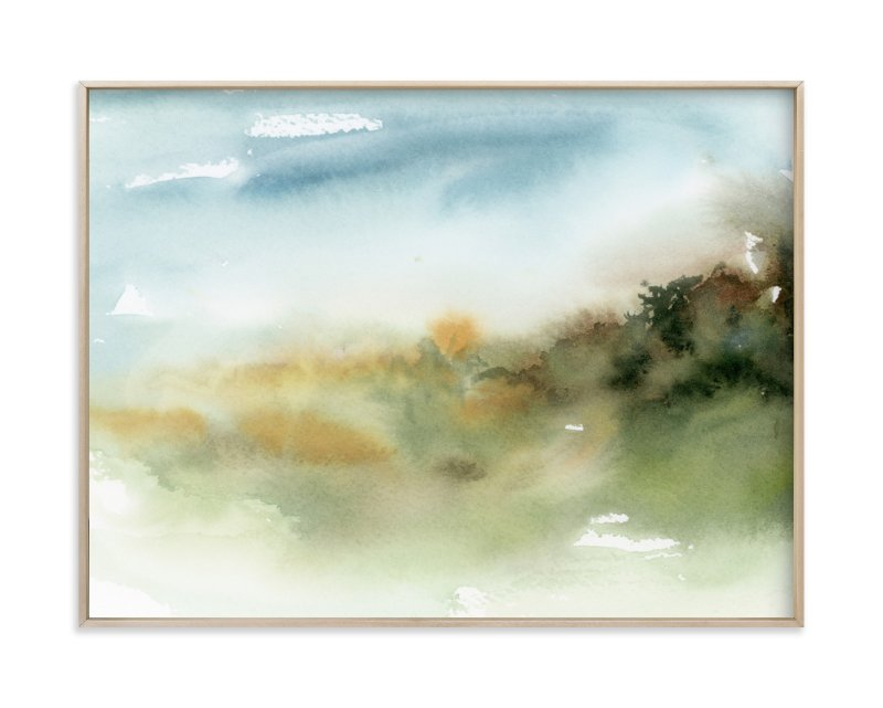 """""""Inbetween Spaces"""" - Limited Edition Art Print by Lindsay Megahed in beautiful frame options and a variety of sizes."""