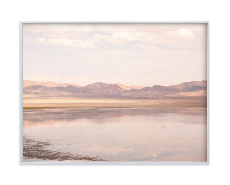 """""""desert lake"""" - Limited Edition Art Print by jessi gilbert in beautiful frame options and a variety of sizes."""