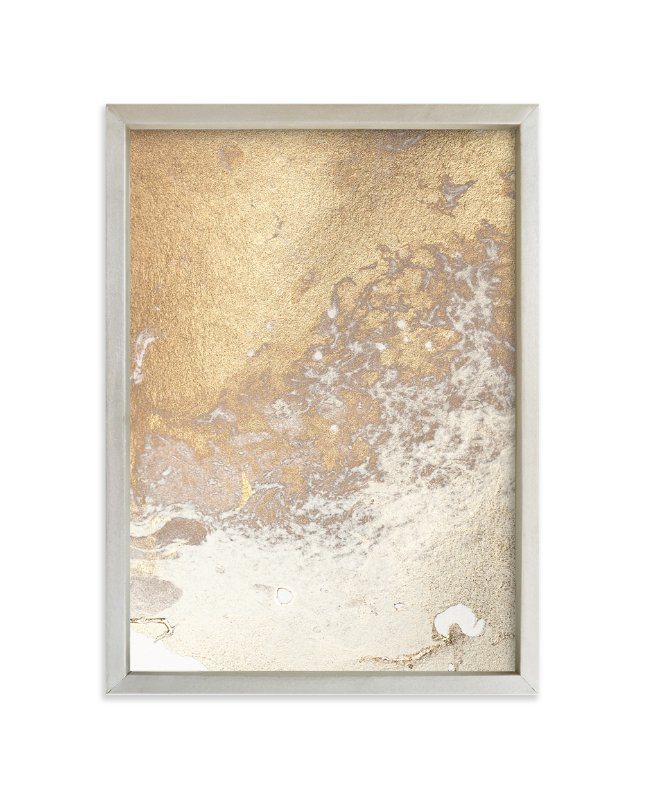"""Aurum Sand No. 3"" - Limited Edition Art Print by Julia Contacessi in beautiful frame options and a variety of sizes."