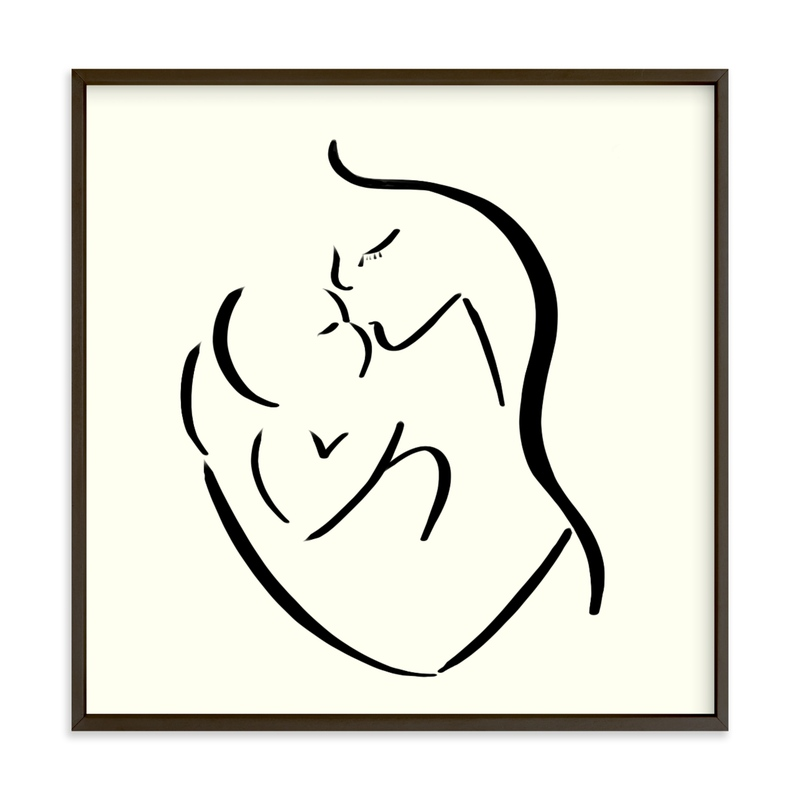 """""""Mama's arms"""" - Limited Edition Art Print by Keely Norton Owendoff in beautiful frame options and a variety of sizes."""