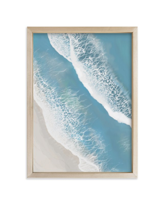 """""""Foam From Above"""" - Limited Edition Art Print by Melanie Shaul in beautiful frame options and a variety of sizes."""