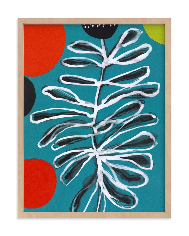 """""""Flower Dance"""" - Limited Edition Art Print by Deborah Velasquez in beautiful frame options and a variety of sizes."""