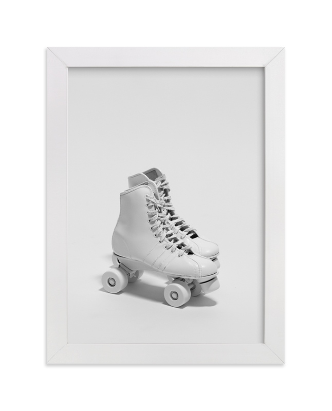 """""""Roller Skates """" - Limited Edition Art Print by Cristiane in beautiful frame options and a variety of sizes."""