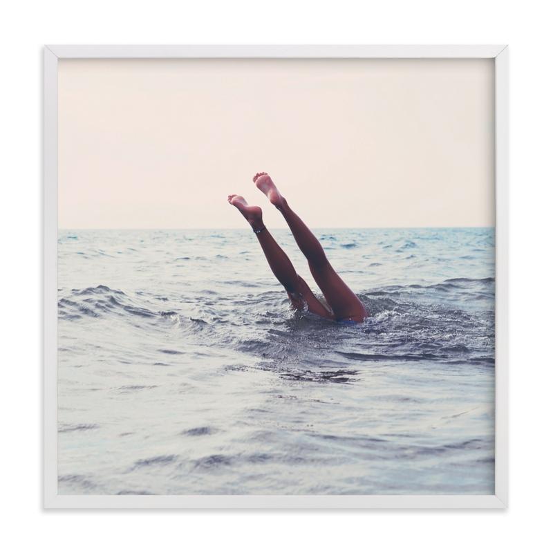 Summer Handstand Art Print