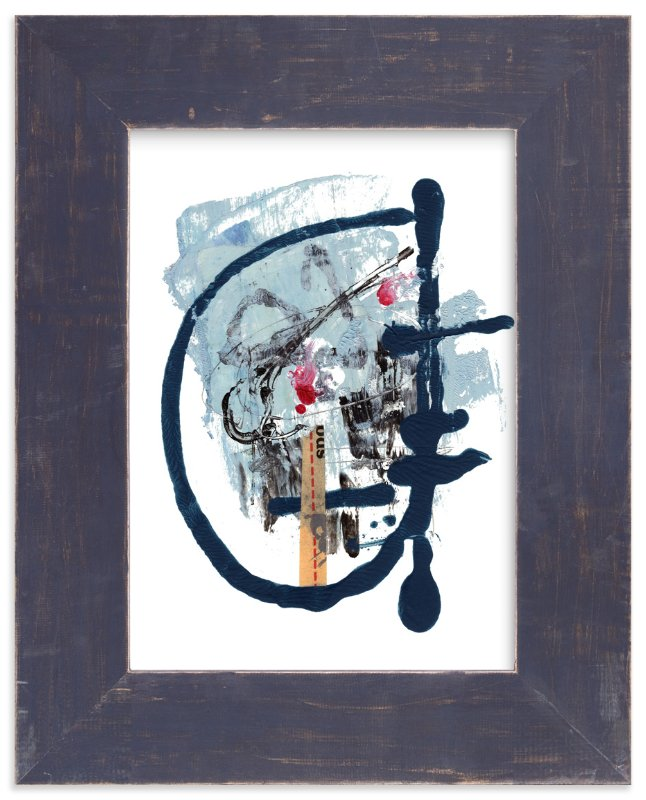 """""""Duly Noted"""" - Limited Edition Art Print by Misty Hughes in beautiful frame options and a variety of sizes."""