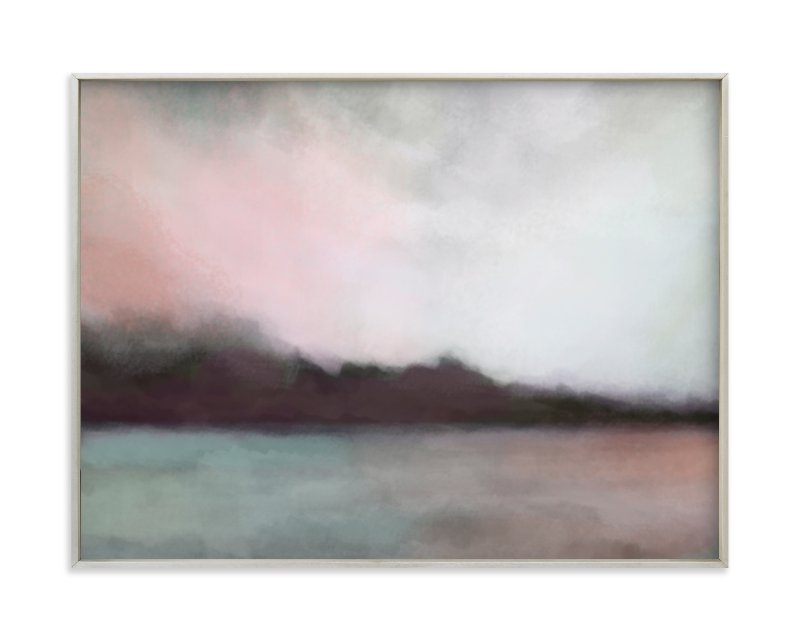 """""""Cascade Harbor"""" - Limited Edition Art Print by Alison Jerry Designs in beautiful frame options and a variety of sizes."""