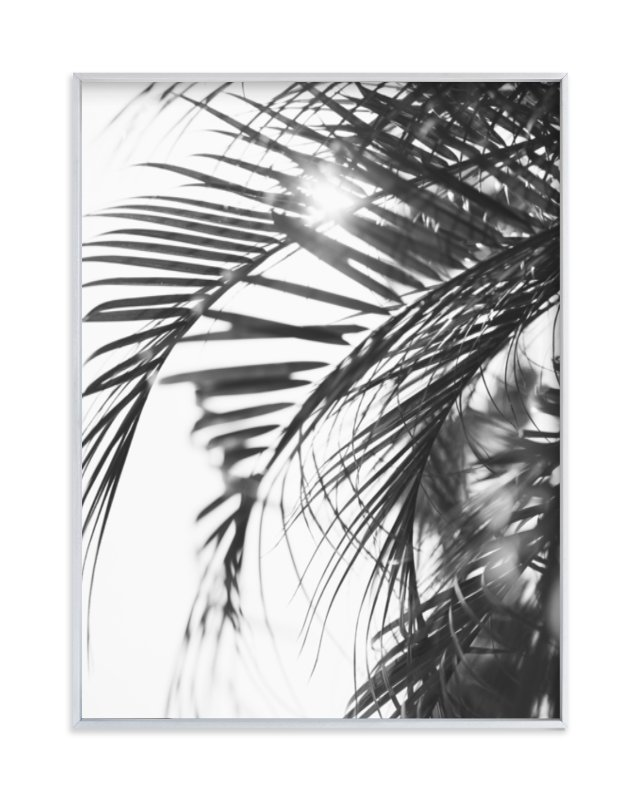"""Palm 3"" - Limited Edition Art Print by Kamala Nahas in beautiful frame options and a variety of sizes."