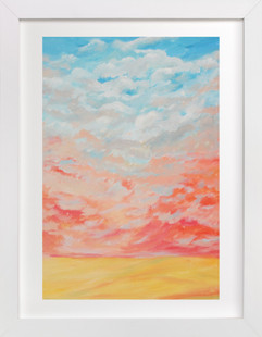 Reddish Wind Art Print