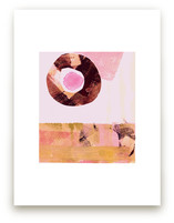 Pink & Brown by KATE QUALE