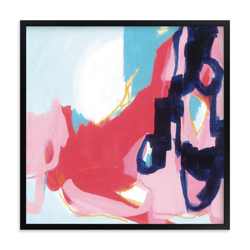 """Opus"" - Limited Edition Art Print by Katie Craig in beautiful frame options and a variety of sizes."