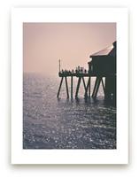 On Pier by Pamela Steiner