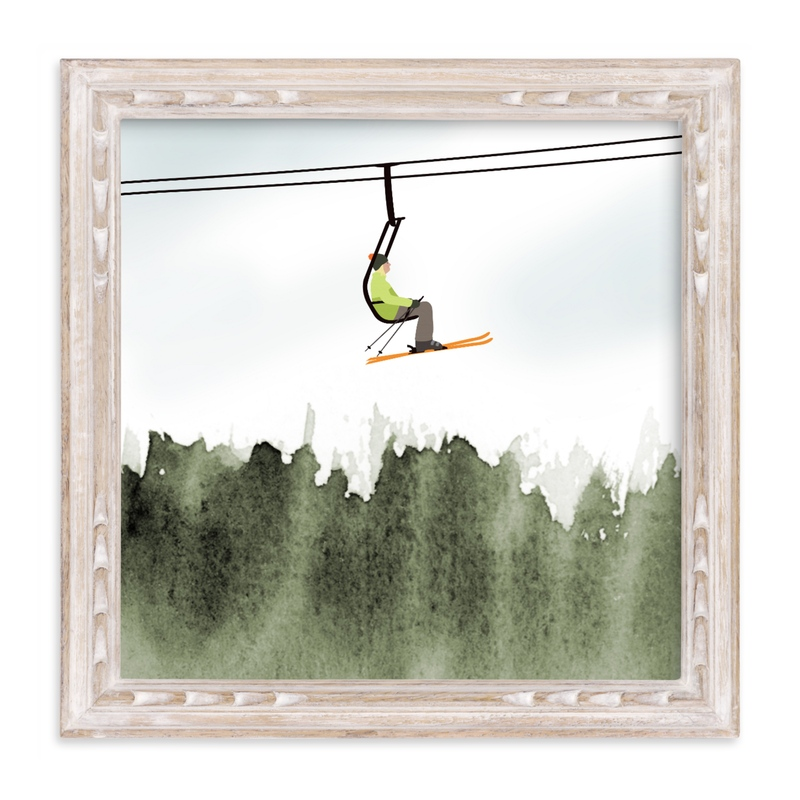 """""""Top Of The World"""" - Limited Edition Art Print by Shannon in beautiful frame options and a variety of sizes."""