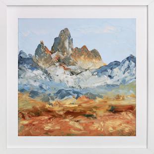 Le Grand Teton Art Print