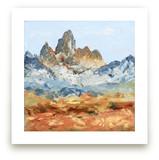 Le Grand Teton by Laura Morris