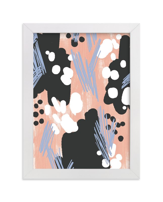 """""""Pop Pattern"""" - Limited Edition Art Print by Melissa Kelman in beautiful frame options and a variety of sizes."""