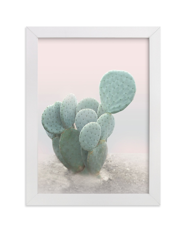 """""""Little Cactus"""" - Limited Edition Art Print by Wilder California in beautiful frame options and a variety of sizes."""