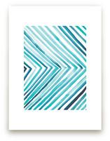 Aquatic Line by Christine Llewellyn