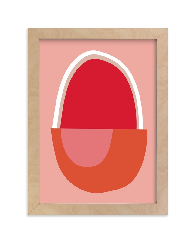 """""""Big Egg"""" - Limited Edition Art Print by sue prue in beautiful frame options and a variety of sizes."""