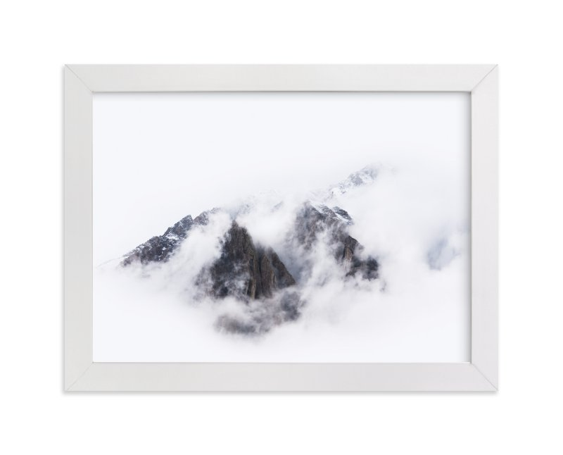 This is a white art by GeekInk Design called Top Of The World.