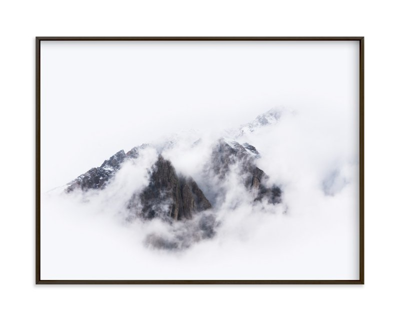 """Top Of The World"" - Limited Edition Art Print by GeekInk Design in beautiful frame options and a variety of sizes."
