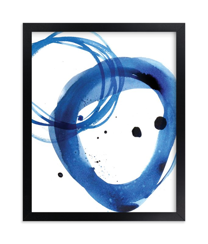 """Mingle"" - Limited Edition Art Print by Julie Song Ink in beautiful frame options and a variety of sizes."