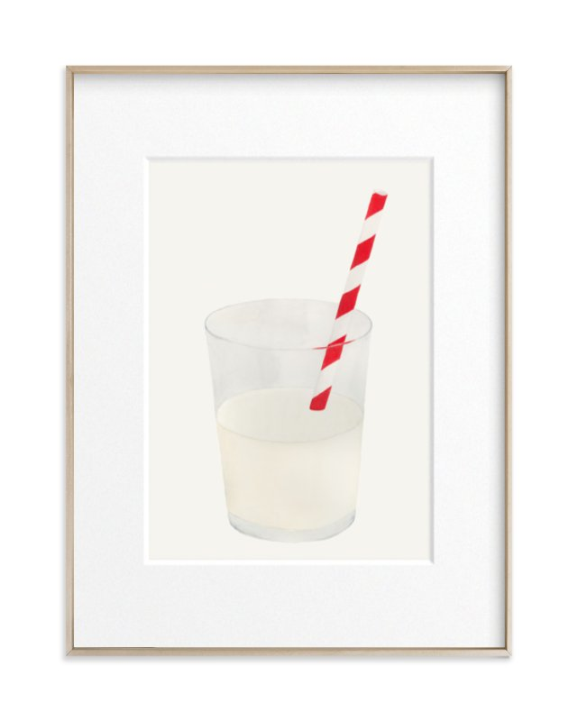 Whole Milk Art Print