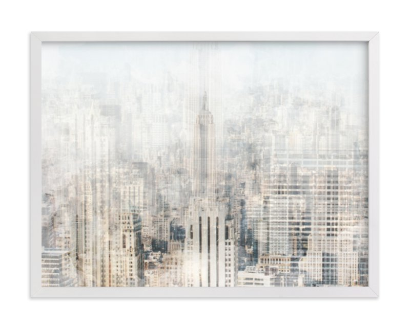 """Big Apple Blur"" - Limited Edition Art Print by Pockets of Film in beautiful frame options and a variety of sizes."