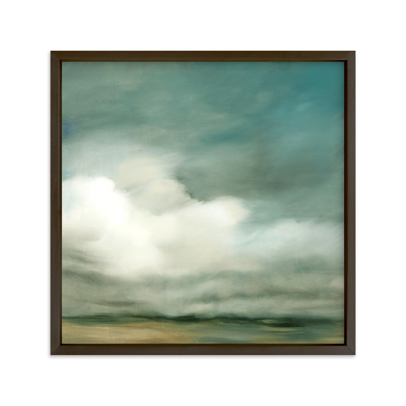 """""""First of October"""" - Limited Edition Art Print by Kelly Money in beautiful frame options and a variety of sizes."""