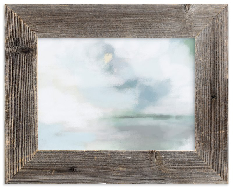 """""""Monday Blues"""" - Limited Edition Art Print by Alison Jerry Designs in beautiful frame options and a variety of sizes."""