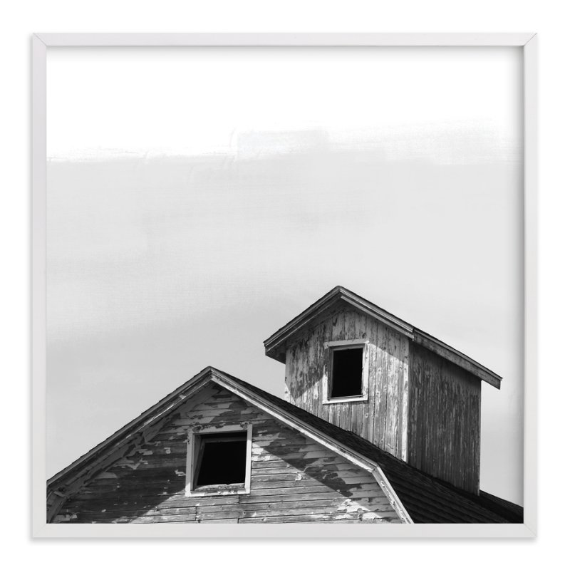 """""""Salvage - Barn Series 3"""" - Limited Edition Art Print by That Girl Studio in beautiful frame options and a variety of sizes."""