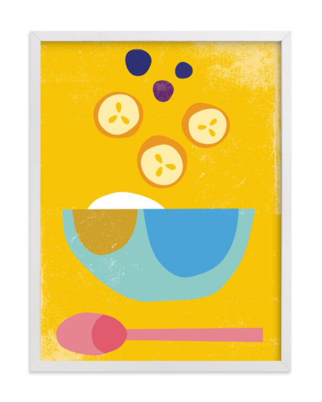 Breakfast Bowl Art Print