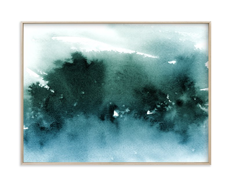 """""""misty forest"""" - Limited Edition Art Print by Lindsay Megahed in beautiful frame options and a variety of sizes."""