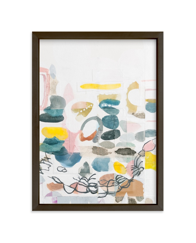 """""""Papers No. 25.2"""" - Limited Edition Art Print by Erin McCluskey Wheeler in beautiful frame options and a variety of sizes."""