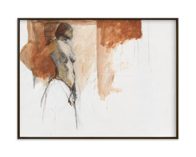 """after the bath"" - Limited Edition Art Print by Patricia Robitaille in beautiful frame options and a variety of sizes."