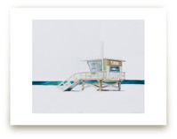 Hermosa Beach Lifeguard Tower