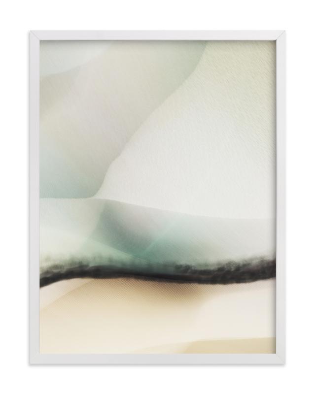 This is a blue art by Karen Kardatzke called Trade Winds.