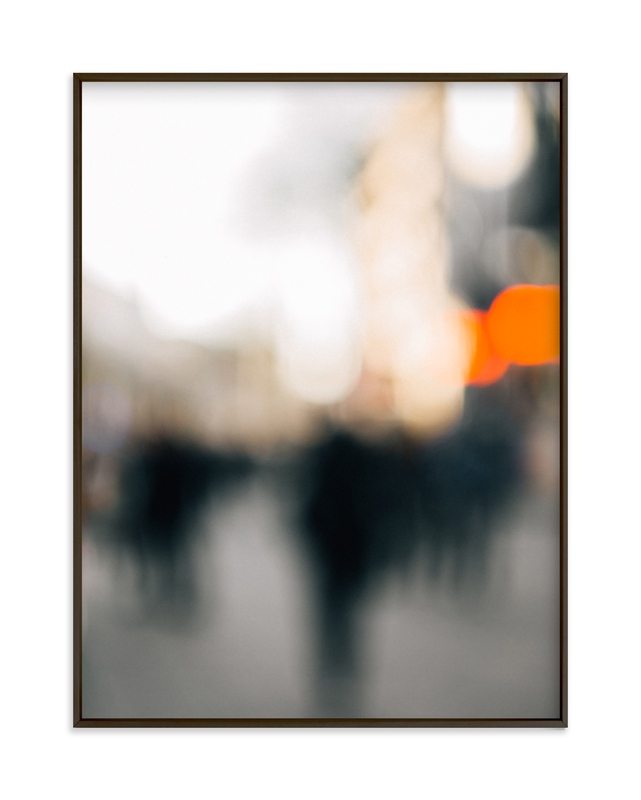 """city pulse"" - Limited Edition Art Print by Anastasia Makarova in beautiful frame options and a variety of sizes."